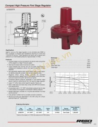 Rego Compact High Pressure First Stage Regulator