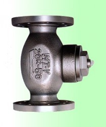 Van lọc khí Gas, lọc LPG kiểu T, Carbon Steel T Type Strainer, Flanged Type, made in Japan