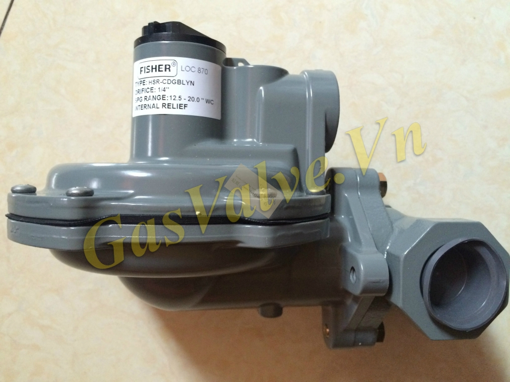 Van điều áp cấp 2 Fisher Low Pressure Regulator HSR-CDGBLYN